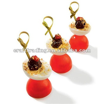 Various Cheap Bamboo Fruit Skewers/Sticks/Picks Wholesale
