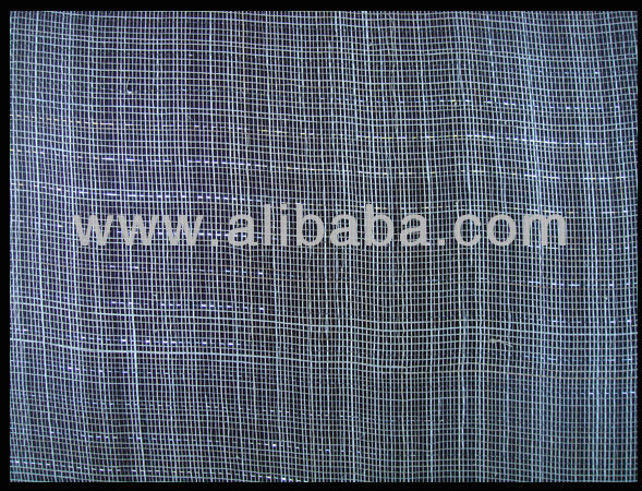 Sinamay Fabric (Abaca with Silver Lurex)