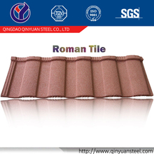 Stone Coated Metal Roof sheet, metal corrugated tile roofing for Nigeria Kenya