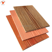 Hot Sell Colorful Wood Grain Fiber Cement Board For Exterior Wall