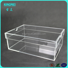 Custom Clear Acrylic Sneaker Display Box Wholesale