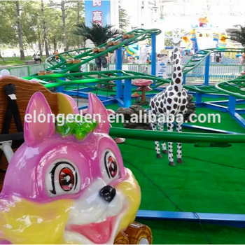 Factory price roller coaster forest amusement park ride/Kiddies train