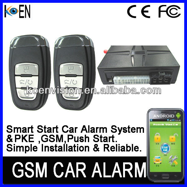 Car Alarm, Car Alarm That Calls Cell Phone, GPS Car Alarm