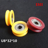zinc alloy double wheel lifting pulley