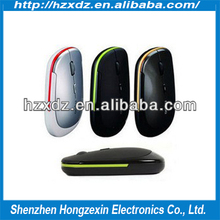 High quality light No light 2.4 G wireless mouse