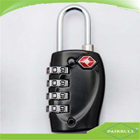 New product 4-diali number password tsa combination padlock