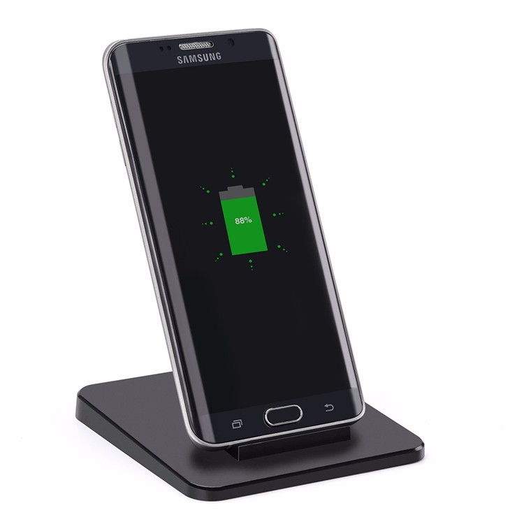 Fashion Quick Charge QI Standard Cell Phone Signal Receiver Wireless Charger For Samsung