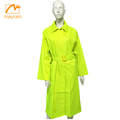 polyester fashion ladies long raincoat