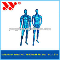 Abstract Face Glossy Full Body Fibreglass Male Mannequin