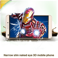 Latest naked eye 3D digital phone 5.5 inch mobile phone