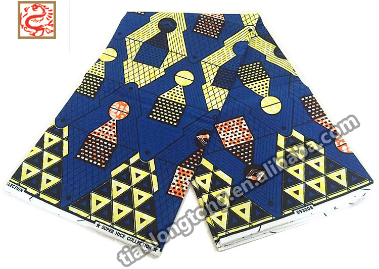 Stefull african dress good quality java wax african print fabric