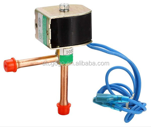Mini flow refrigerant solenoid valve for r134a refrigerant gas as well Carrier Kai Li Feng Ji Pan Guan as well Watch together with Air Conditioner Heat Pump System Solenoid Valve 4 Way Reversing Valve 1 1 5tons 60384587947 as well 91476 Condensing Temperature Clues. on r410a coil