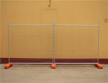 Heavy duty outdoor construction temporary fence panel