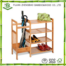 Hot sale bamboo rack for shoe and umbrella