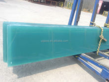 blue color pvb film laminated glass