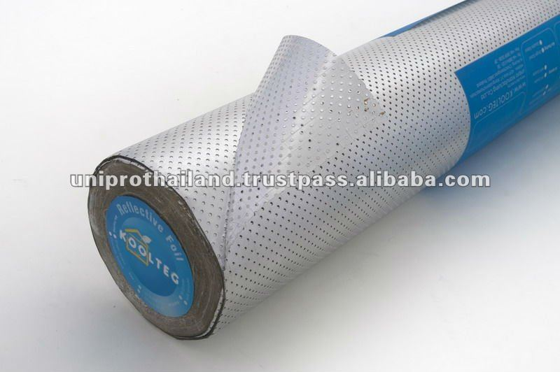 Koolteg 431 Perforated Aluminium Foil Facing Insulation