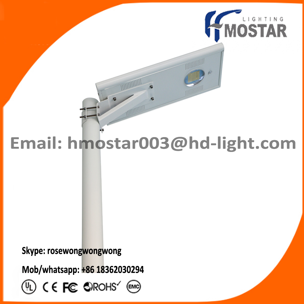 Most popular Best Price Guaranteed all in one integrated solar led street light with lithium battery well