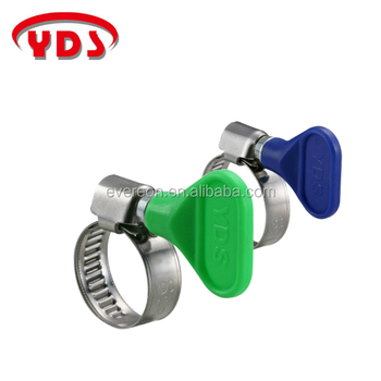 Non-perforated band hanging quick clamp hydraulic pipe clamp