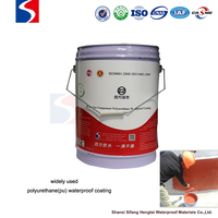 liquid waterproofing material polyurethane PU coating