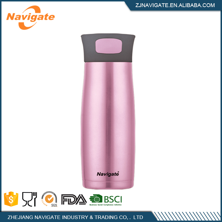 Latest arrival wholesale blue 18/8 stainless steel small water bottle