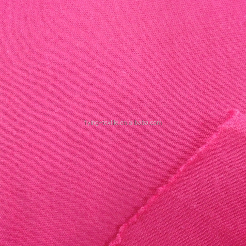 40% polyester 60% cotton coarse knitting single jersey