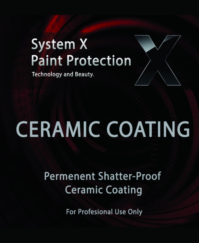 System X Ceramic Paint Sealant - Auto, Marine, Aircraft