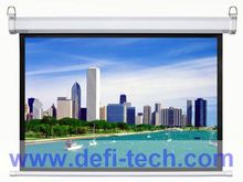 Top quality wall mount/ceilling hanging electronic projection screen