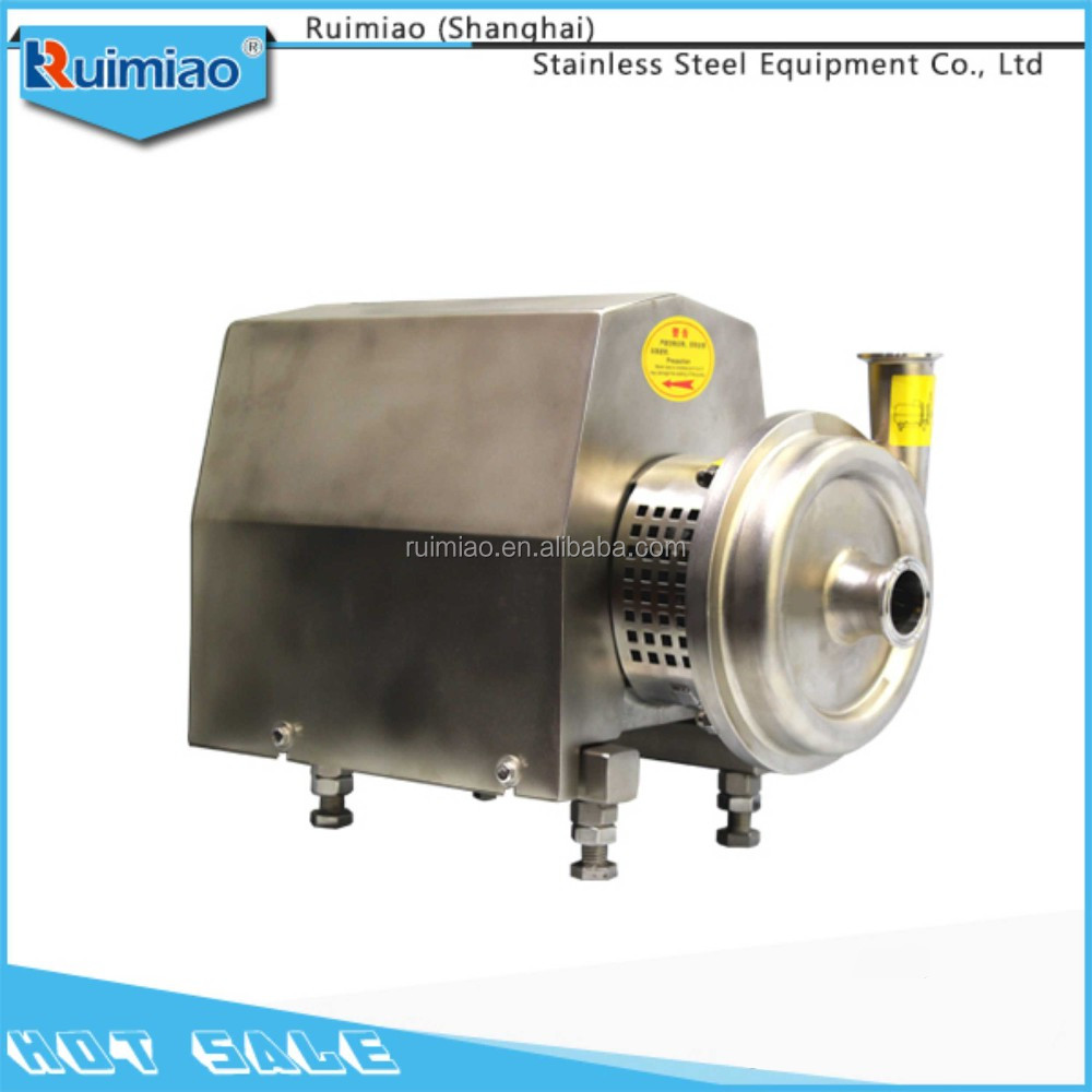 Stainless steel sanitary top-grade beverages centrifugal beer pump