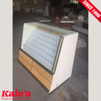 Modern cigarette display cabinet showcase for retail Store