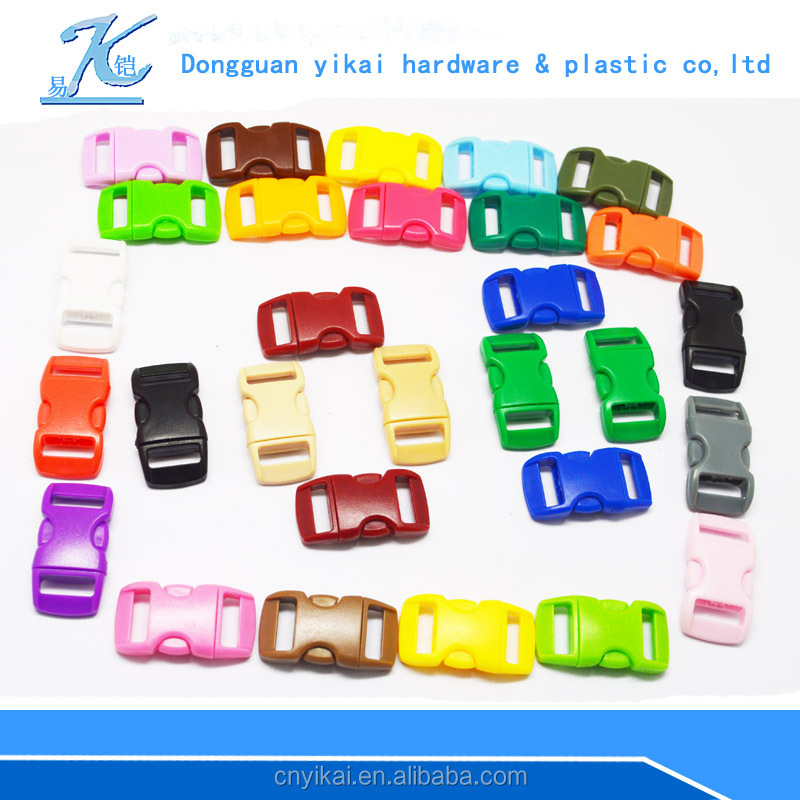 promotional plastic bag buckle clip,colorful bag strap buckle for bags