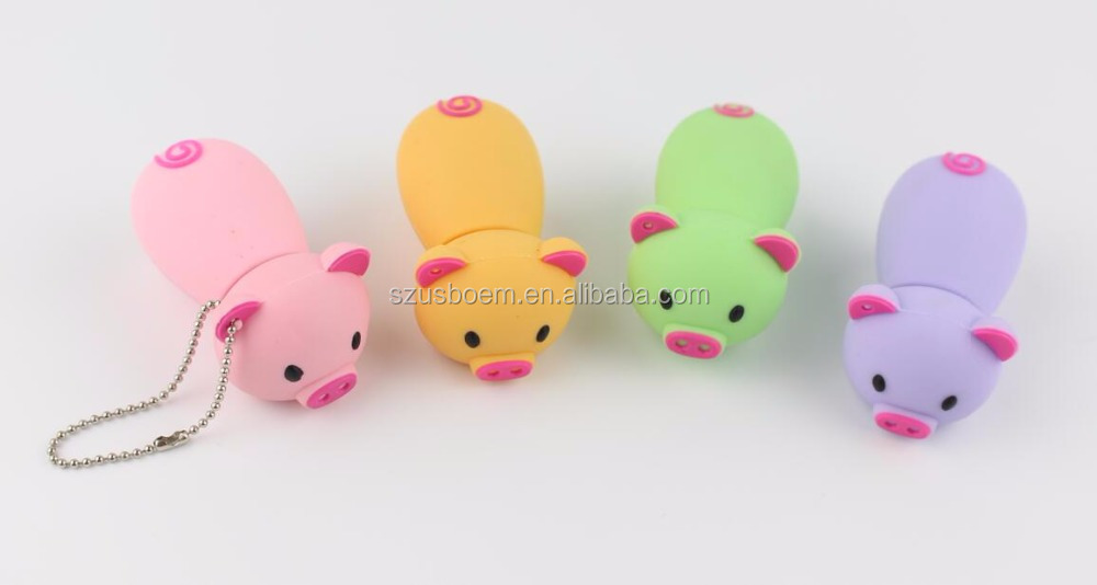 different types free logo pig usb 128gb