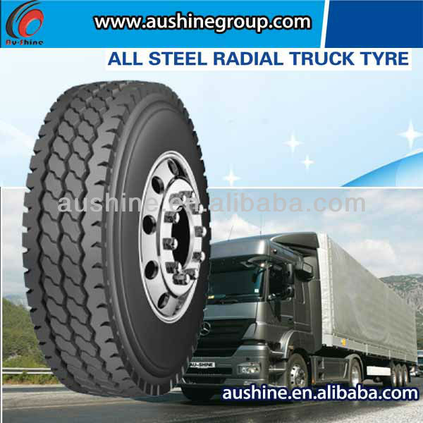 over 10 years experience 825R20-16 AU168 all steel radial truck TBR tire for Bus tire