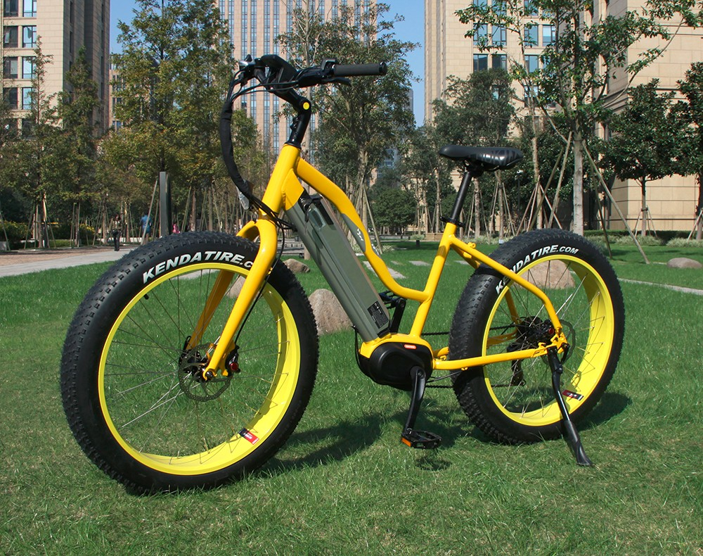 350W Brushless Aluminum 36v Lithium Battery Fat Tire Ebike