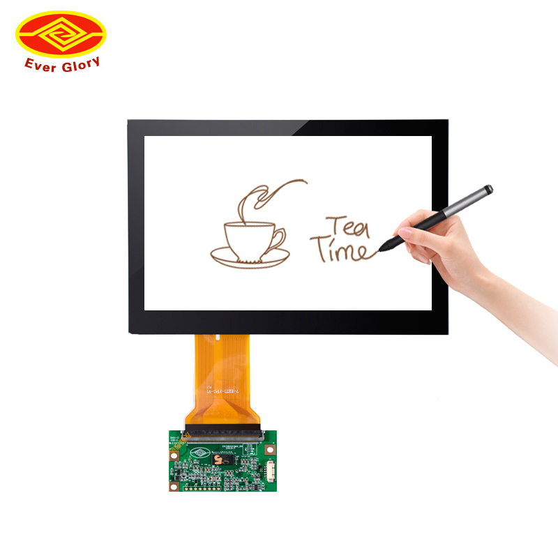 7 inch 4 wire resistive touch screen panel with USB interface