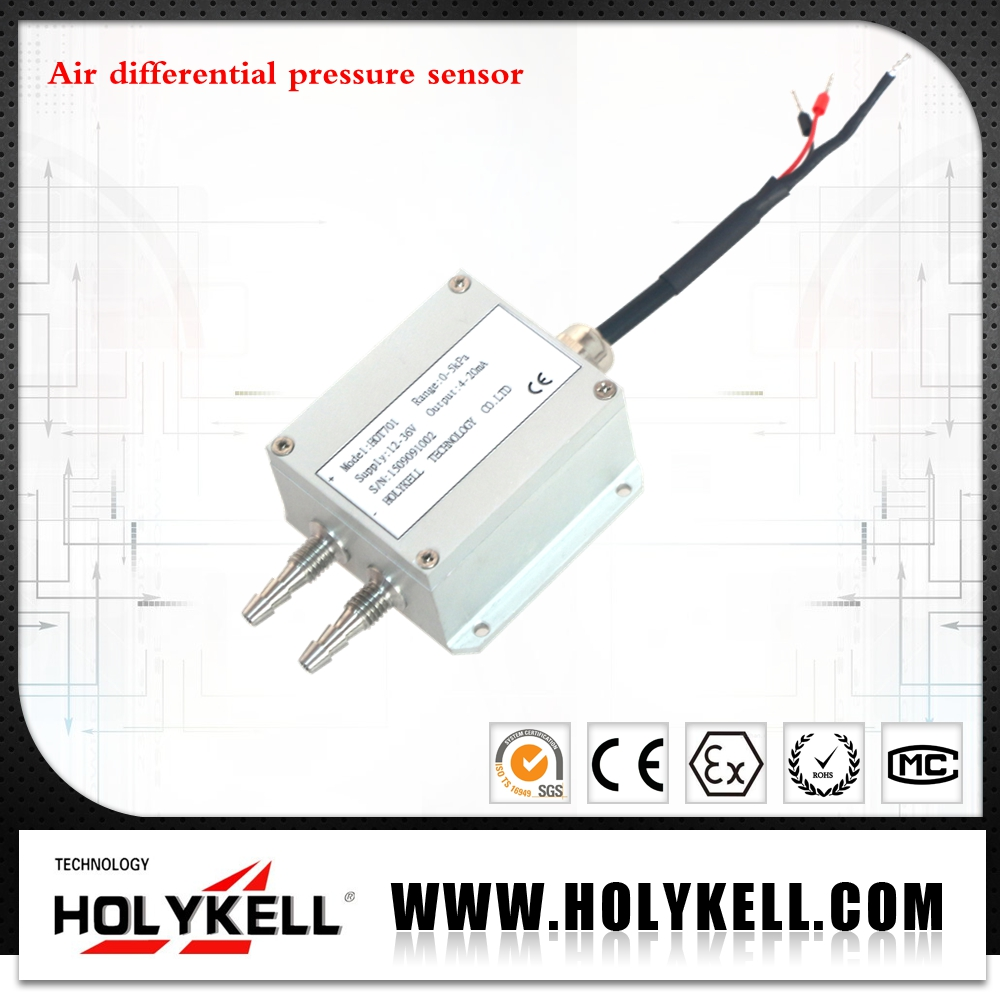 Dry Digital Air Differential Pressure Transmitters, Air Differential Pressure Sensor Model:HPT701