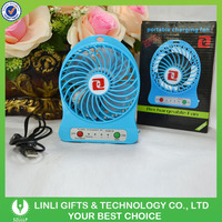 New Mini Rechargeable Table Stand Fan With Battery