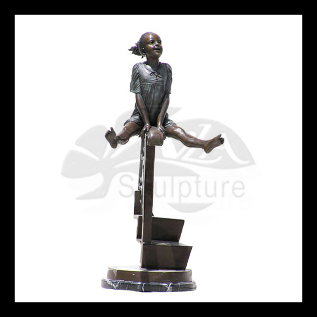 high quality badminton sportsman statue