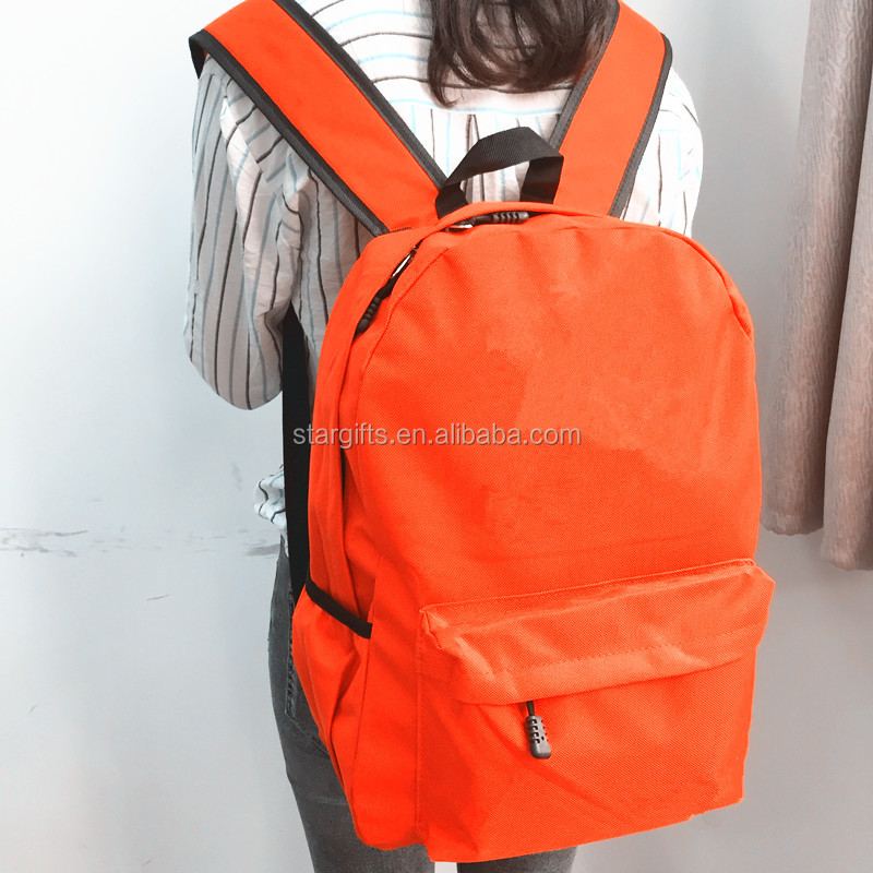 China Factory Fashion Cheap Promotional Large Backpacks For Children