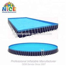 singapore inflatable adult swimming pool metal frame swimming pool for sales