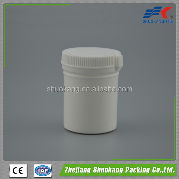 Hot sale empty plastic pharmaceutical bottle/medicine bottle/Plastic Pill Container