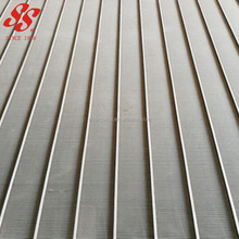 high quality 304 316L stainless steel wedge wire screen mesh plate