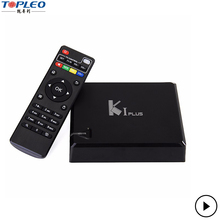 Hot three-in-0ne K1 Plus T2 S2 Xbmc Kodi Amlogic S905 Quad Core Tv Box K1 Dvb S2 T2 K1 Plus Android 5.1 TV box