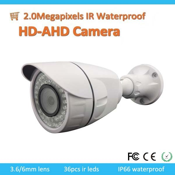 Low Price 2MP Waterproof HD-AHD Camera With 3.6mm Fixed Lens