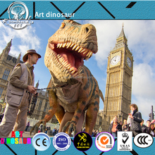 Attractive real life size dinosaur costume. Animatronic ArtificialT-rex Dinosaur Costume.Chinese Dinosaur Factory