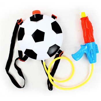 Footabll outdoor games toys soccer Backpack Water Blaster Toy Gun