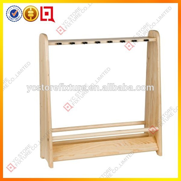 top qualit personnalis en bois porte canne p che. Black Bedroom Furniture Sets. Home Design Ideas