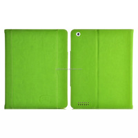 Premium PU flip leather foldable folio stand protective case with kickstand for iPad air 2