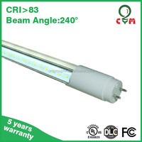 Best Price $9.00/PIECE 18W T8 4 feet LED tube ,UL LDC approved ,3 years warranty