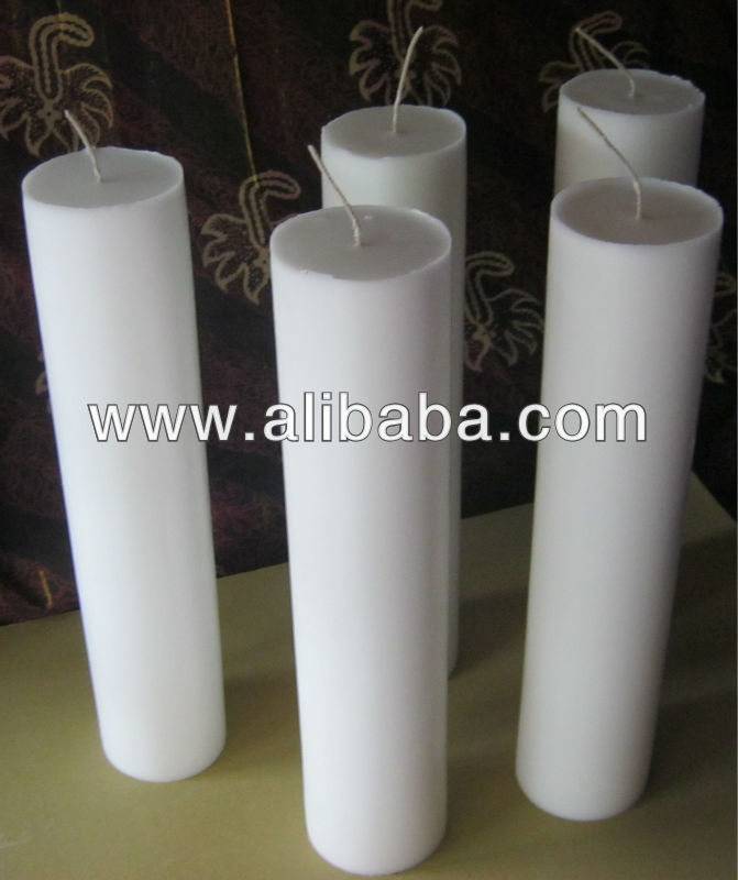 Big Candle / Long white candle