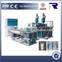 automatic three layer/five layer co-extrusion stretch film machine